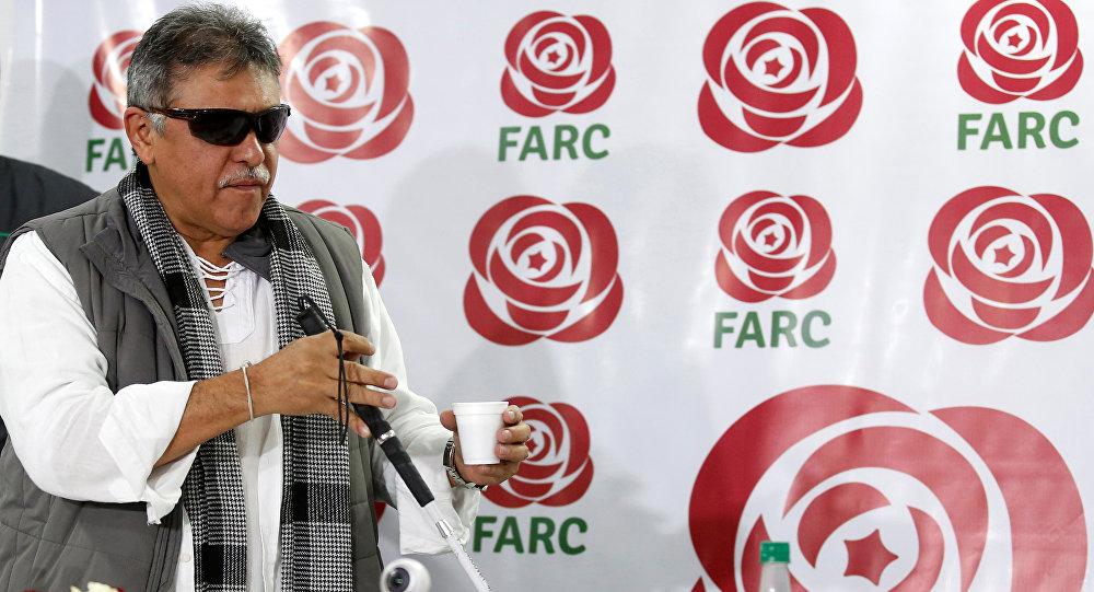 FARC yöneticisi Jesus Santrich