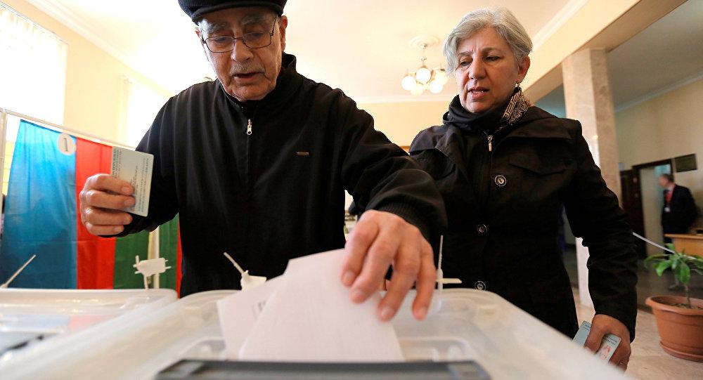 Azerbaycan-Cumhurbaşkanlığı seçimi