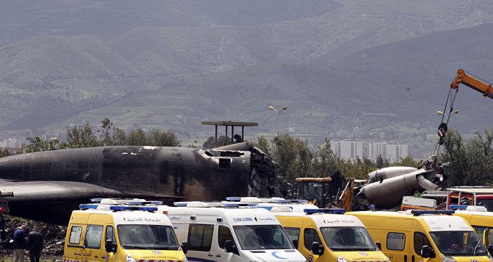 Cezayir-Uçak kazası
