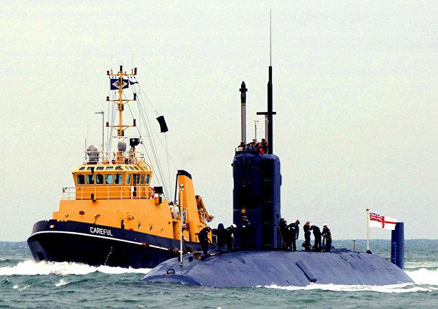 İngiltere denizaltısı