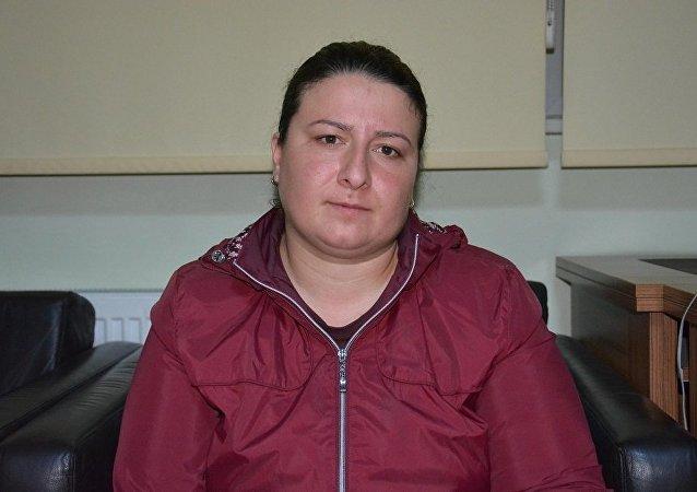 Polis memuru İlhan Özcan'ın eşi Gözde Özcan
