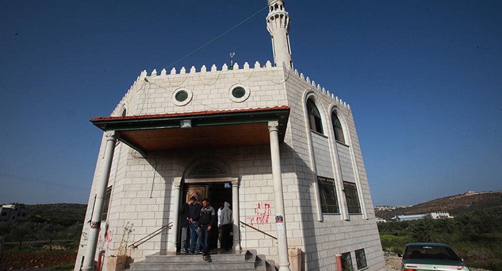 İşgal altındaki Batı Şeria'da yer alan Nablus kentinde bir caminin Yahudi yerleşimcilerin saldırısına maruz kaldığı bildirildi.