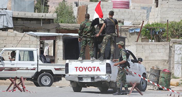 Suriye hükümet güçleri- Duma