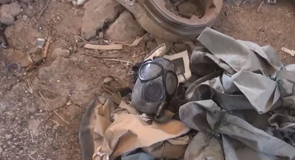 Suriye ordusunun ele geçirdiği kimyasal laboratuvar