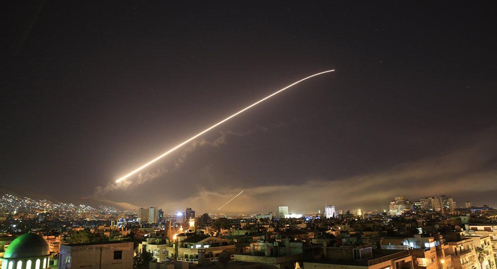 ABD, Suriye'ye saldırı başlattı.