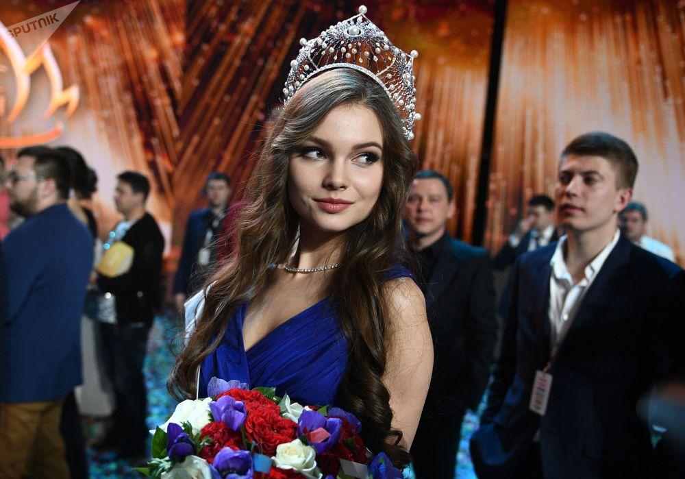 Miss Rusya 2018 Yarışması finali