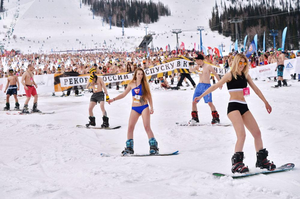 Sibirya'da Grelka Fest etkinliği
