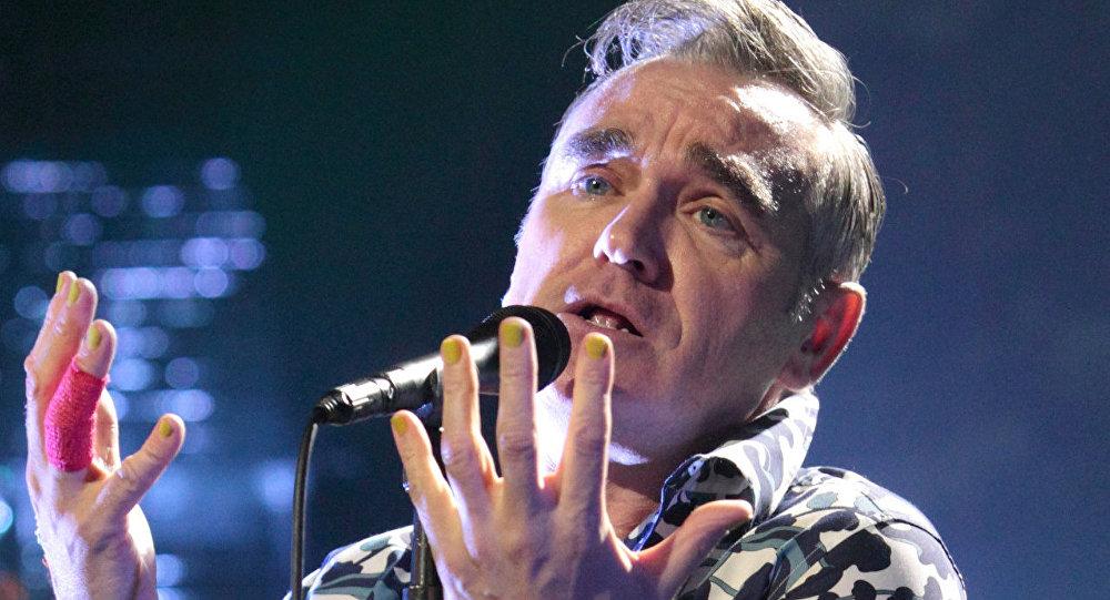 İngiliz şarkıcı Morrissey