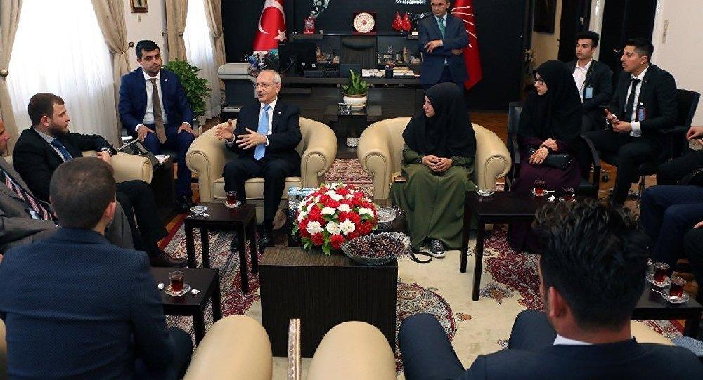 Genç İmam Hatipliler Derneği'nden Kılıçdaroğlu'na ziyaret