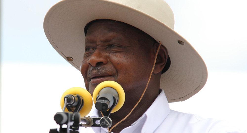 Uganda Devlet Başkanı Yoweri Museveni