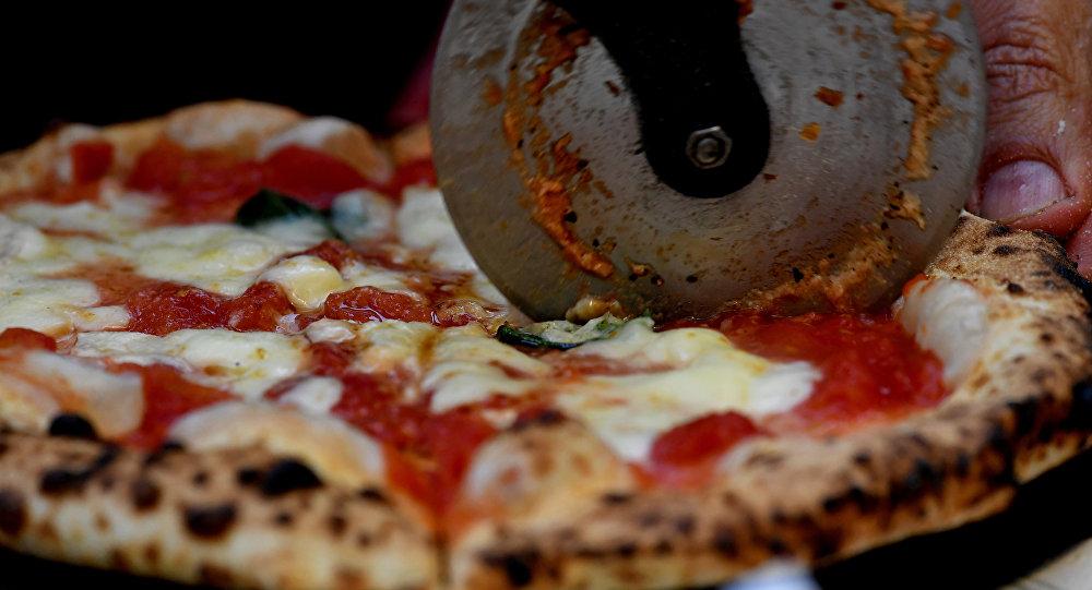 Napoli'deki Capodimonte Müzesi, ilk taş fırında pişirilen margarita pizza