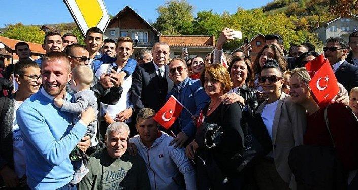 Novi Pazar'dan Cumhurbaşkanı Erdoğan'a fahri hemşehrilik