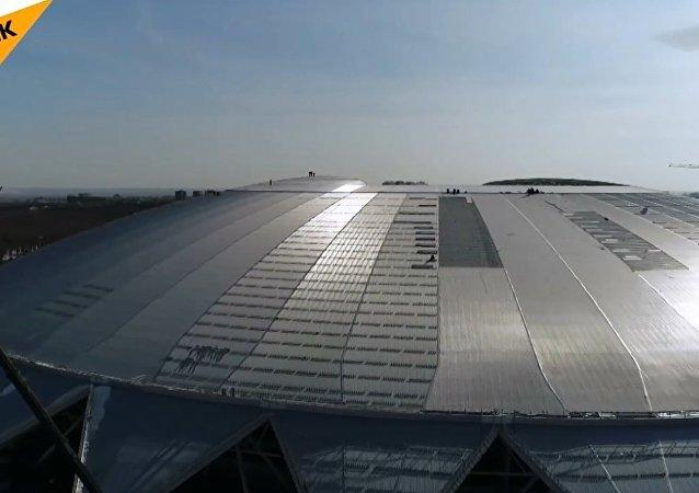 Dünya Kupası stadyumlarından biri Samara Arena