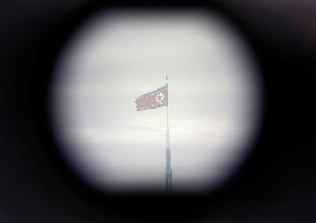 Kuzey Kore bayrağı