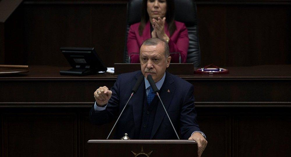Cumhurbaşkanı ve AK Parti Genel Başkanı Recep Tayyip Erdoğan, partisinin TBMM Grup Toplantısına katıldı.