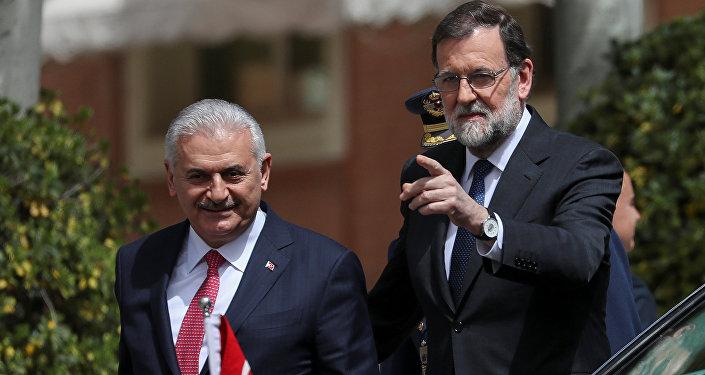 Madrid, Mariano Rajoy, Binali Yıldırım, 24 Nisan 2018