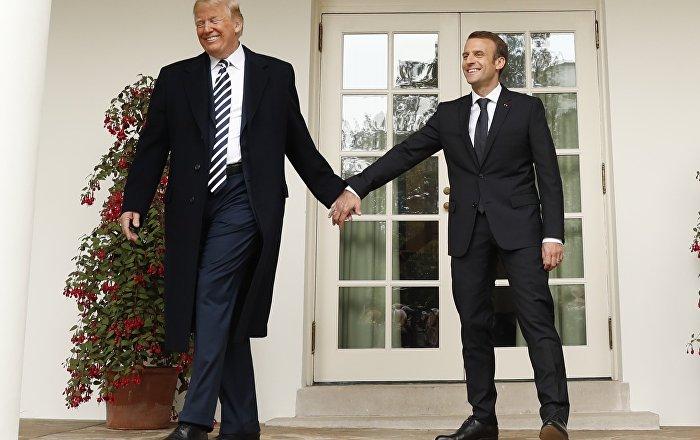 Macron: Suriye konusunda ABD'nin pozisyonunda değişiklikler var