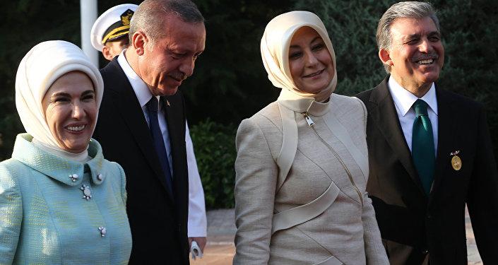 Erdoğan ve Gül ailesi