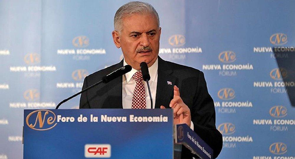 Başbakan Binali Yıldırım, Nueva Economia Forum tarafından Madrid'de düzenlenen toplantıda konuştu.