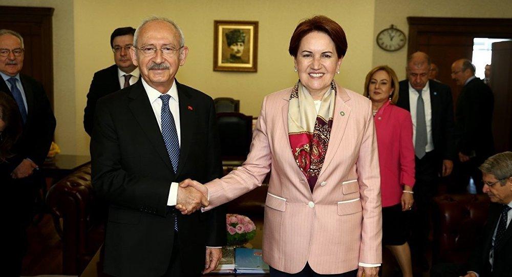 Kemal Kılıçdaroğlu - Meral Akşener