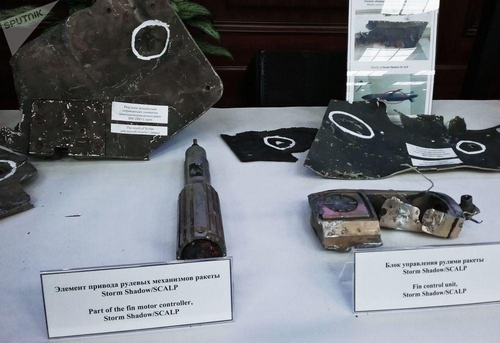 Storm Shadow/SCALP füzelerinin parçaları