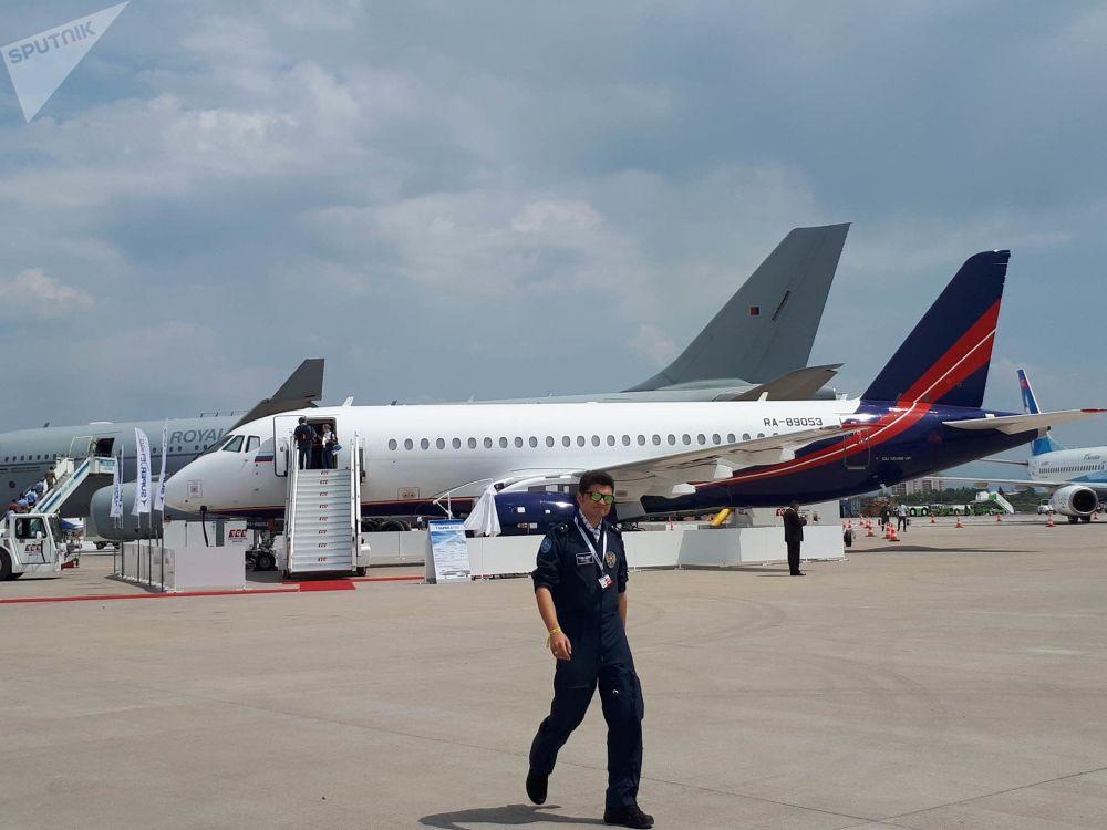 Eurasia Airshow Uluslararası Havacılık Fuarı'nda sergilenen hava araçları