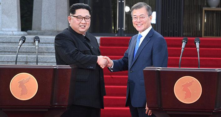 Kim Jong-un-Moon Jae-in