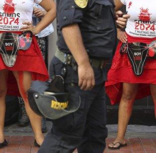 8 Mart 2018, Dünya Kadınlar Günü'nde, Peru'nun başkenti Lima'da Fujimor'nin zorla kısırlaştırma programı protesto edildi.
