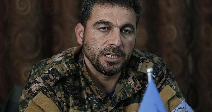 Menbiç Askeri Meclisi Genel Komutanı Ebu Adıl