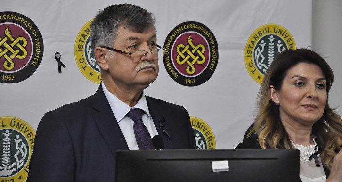 İstanbul Üniversitesi Cerrahpaşa Tıp Fakültesi Dekanı Prof. Dr. Alaattin Duran