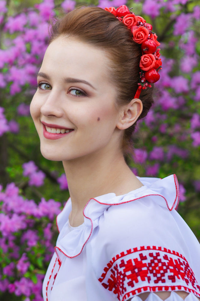 Belarus'ta 'İlkbahar Kraliçesi' öğrenci güzellik yarışması adayları