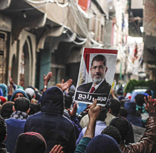 Müslüman Kardeşler destekçileri, Muhammed Mursi fotoğrafı