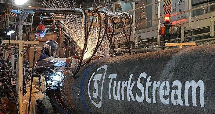 Türk Akımı, Türkiye kıyılarına ulaştı