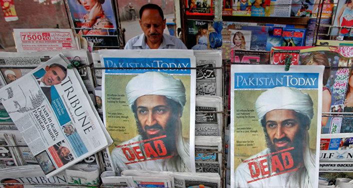 3 Mayıs 2011'de Kaide lideri Usame bin Ladin'in öldürüldüğü haberi Pakistan gazetelerinin manşetlerinde