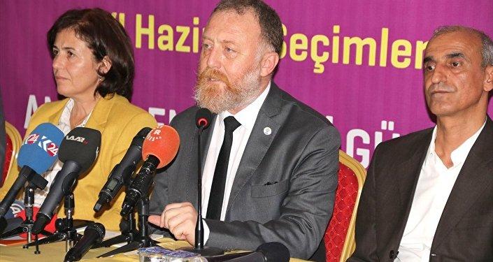 HDP Eş Genel Başkanı Sezai Temelli
