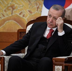 Cumhurbaşkanı Recep Tayyip Erdoğan, Güney Kore'de.
