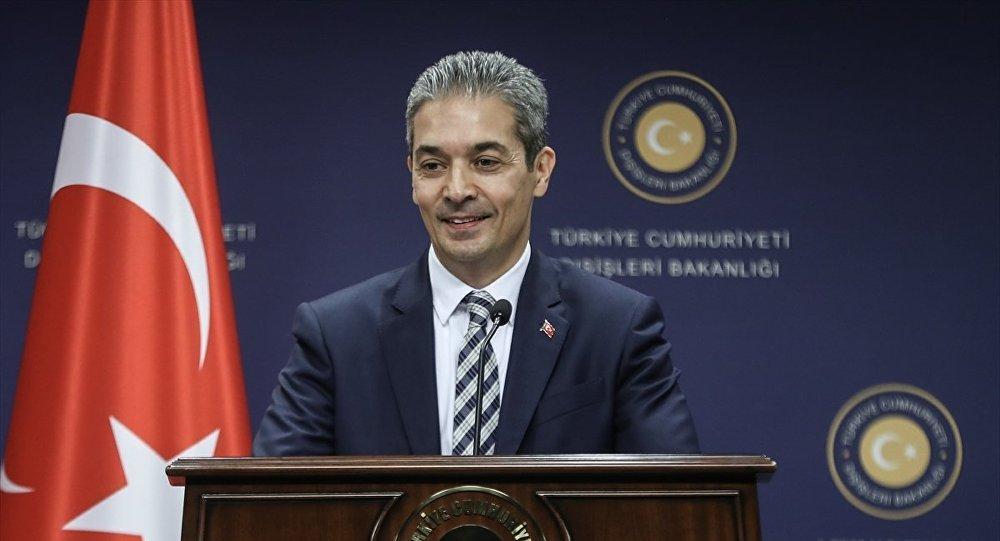Dışişleri Bakanlığı Sözcüsü Hami Aksoy