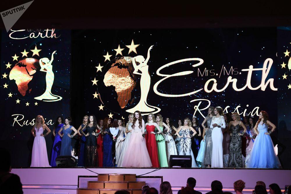 Mrs&Ms Russia Earth 2018  Güzellik Yarışması'ndan kareler