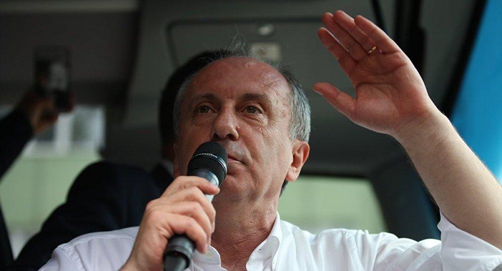 CHP Cumhurbaşkanı Adayı Muharrem İnce-Bursa-Gemlik
