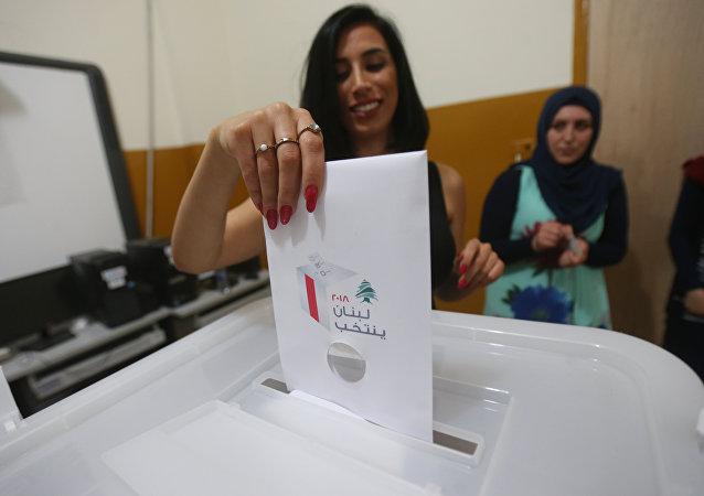 Lübnan'da seçim sandığı oy