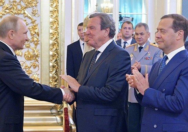 Putin - Schroeder