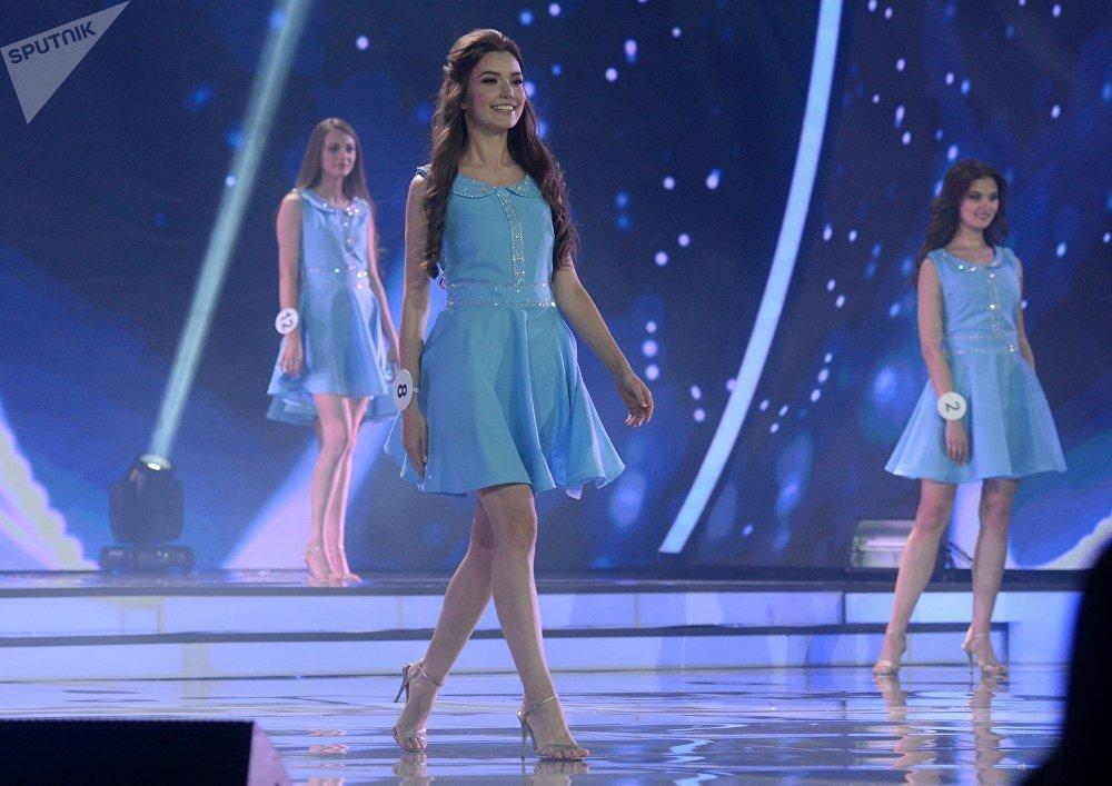 2018 Belarus Güzeli Yarışması'ndan kareler