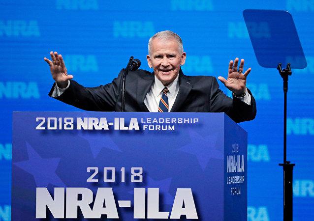 Ulusal Tüfek Derneği'nin (NRA) yeni başkanı Oliver North