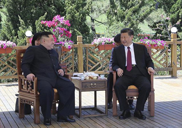 Kuzey Kore lideri Kim Jong-un ile Çin Devlet Başkanı Şi Cinping 7-8 Mayıs'ta Çin'in Dalian kentinde görüştü
