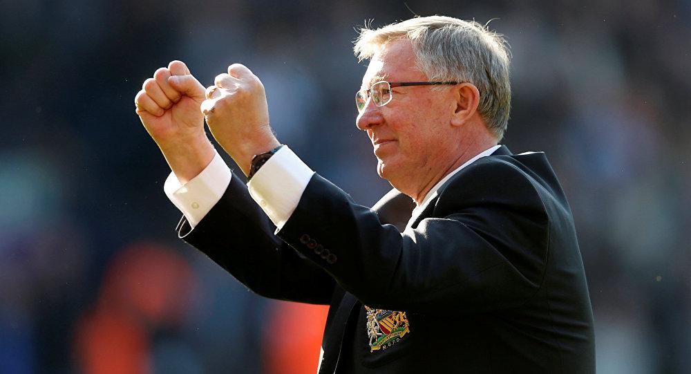 Manchester United'ın eski teknik direktörü Alex Ferguson