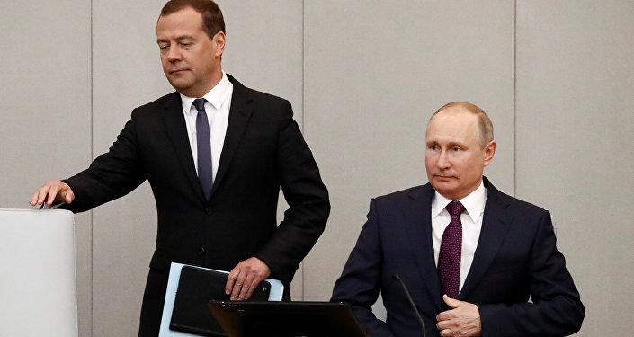 Duma'daki başbakanlık oylamasında Medvedev ile Putin