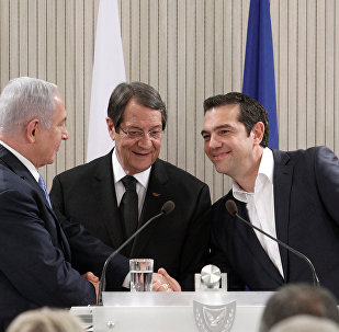 Lefkoşa'da Netanyahu, Anastasiadis ve Çipras arasında doğalgaz boru hattı mutabakatı