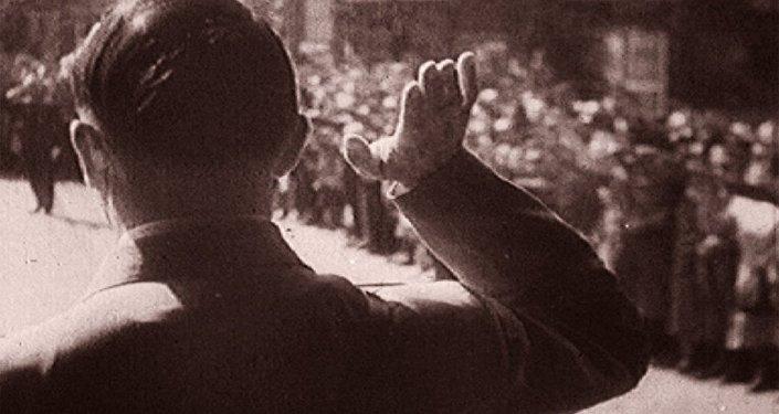 Nürnberg Uluslararası Askerî Ceza Mahkemesi'nin arşivinden bir görüntü