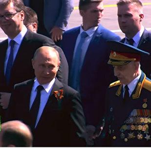 Putin, Rus gazinin yanından uzaklaştırılmasına izin vermedi (VIDEO)