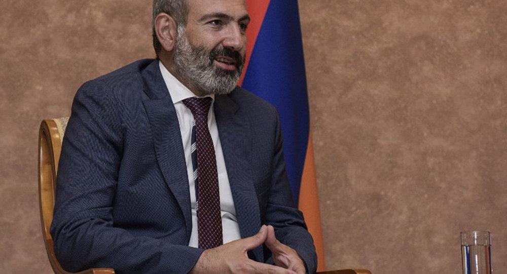 Ermenistan Başbakanı Paşinyan